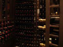 Wine Cellar at fine dining restaurant in Clark Philippines