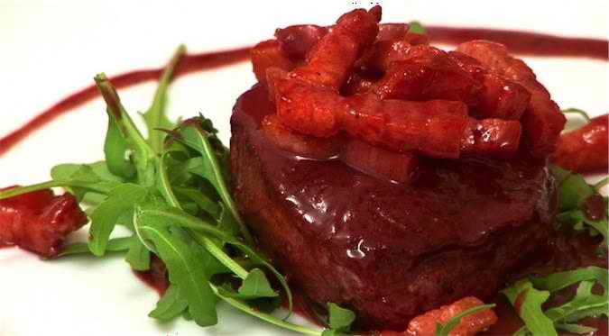 Beef Fillet Barolo Sauce
