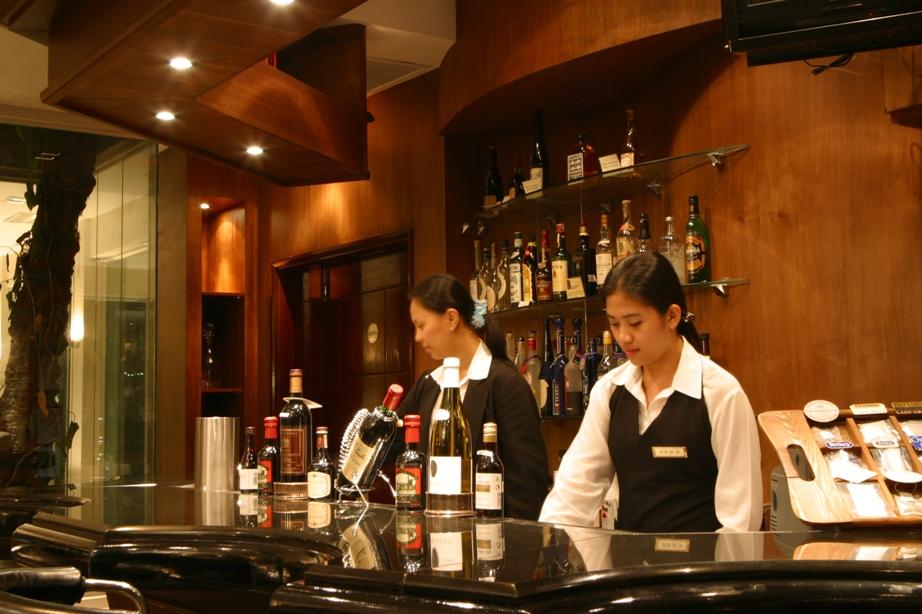 Bar of Restaurant in Clark Pampanga